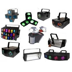 Pack 10 jeux de lumière